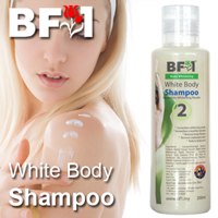 White Body Shampoo - 200ml - Click Image to Close